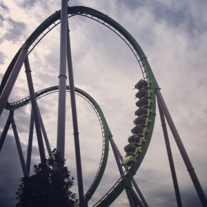 The Hulk Coaster