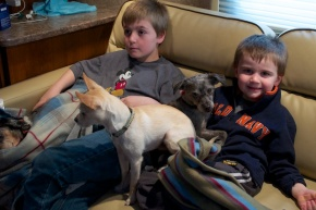Nephews and Sisters and Dogs, Oh My!
