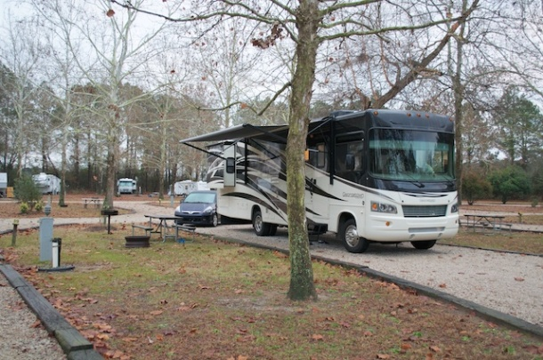 Our Site at the Fayetteville KOA