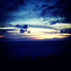 Sunset on Ft Myers Beach