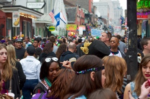Crowded crowd