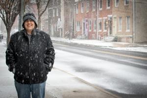Snowy Fran