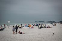 Gloomy Beach Day