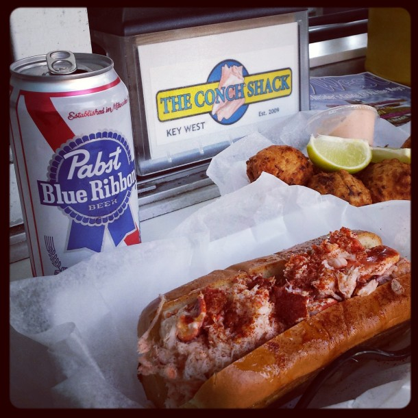 Cheap Beer and Lobster Roll